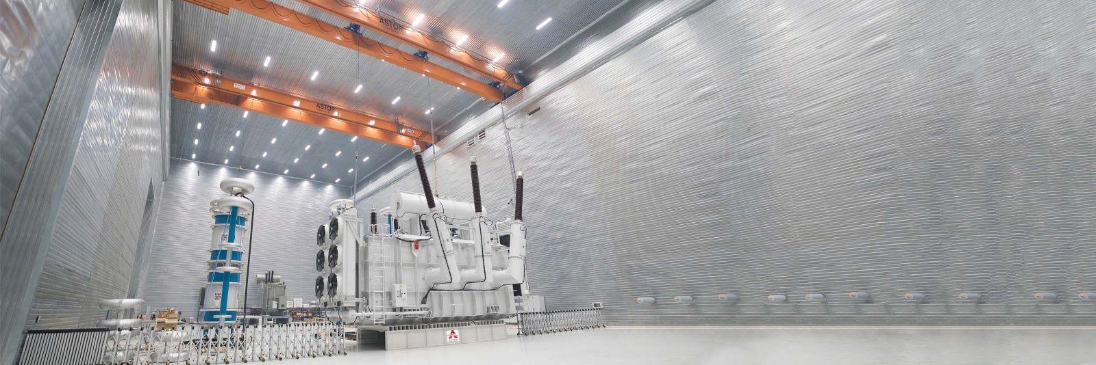 ASTOR 1000 MVA Güç ve 800 kV Gerilim Seviyesi