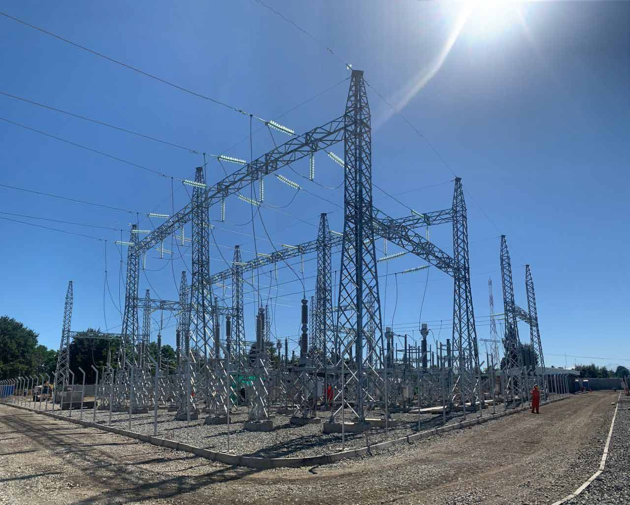 ASTOR Astor marka 20MVA 154/23kV transformatör ile Şili Pueblo Seco enerjilendi.