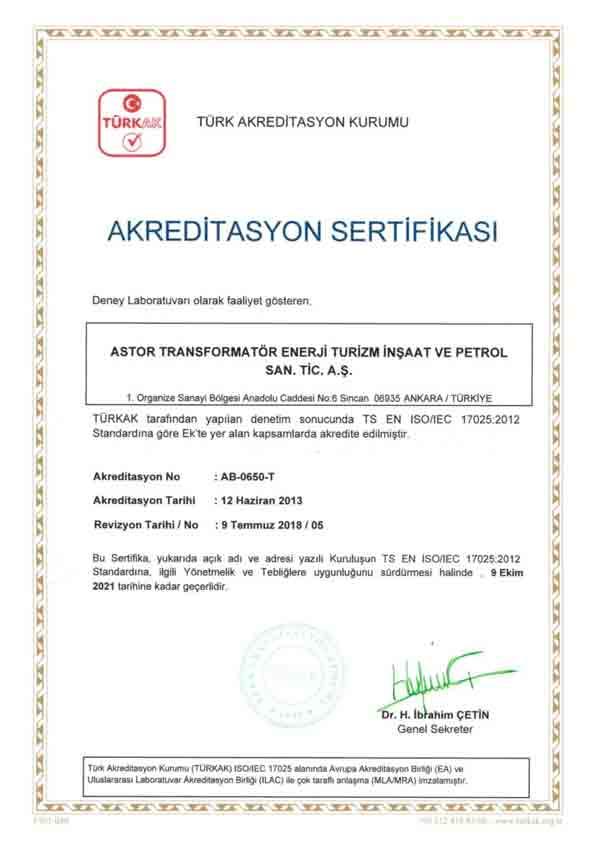 ASTOR BELGELERİMİZ