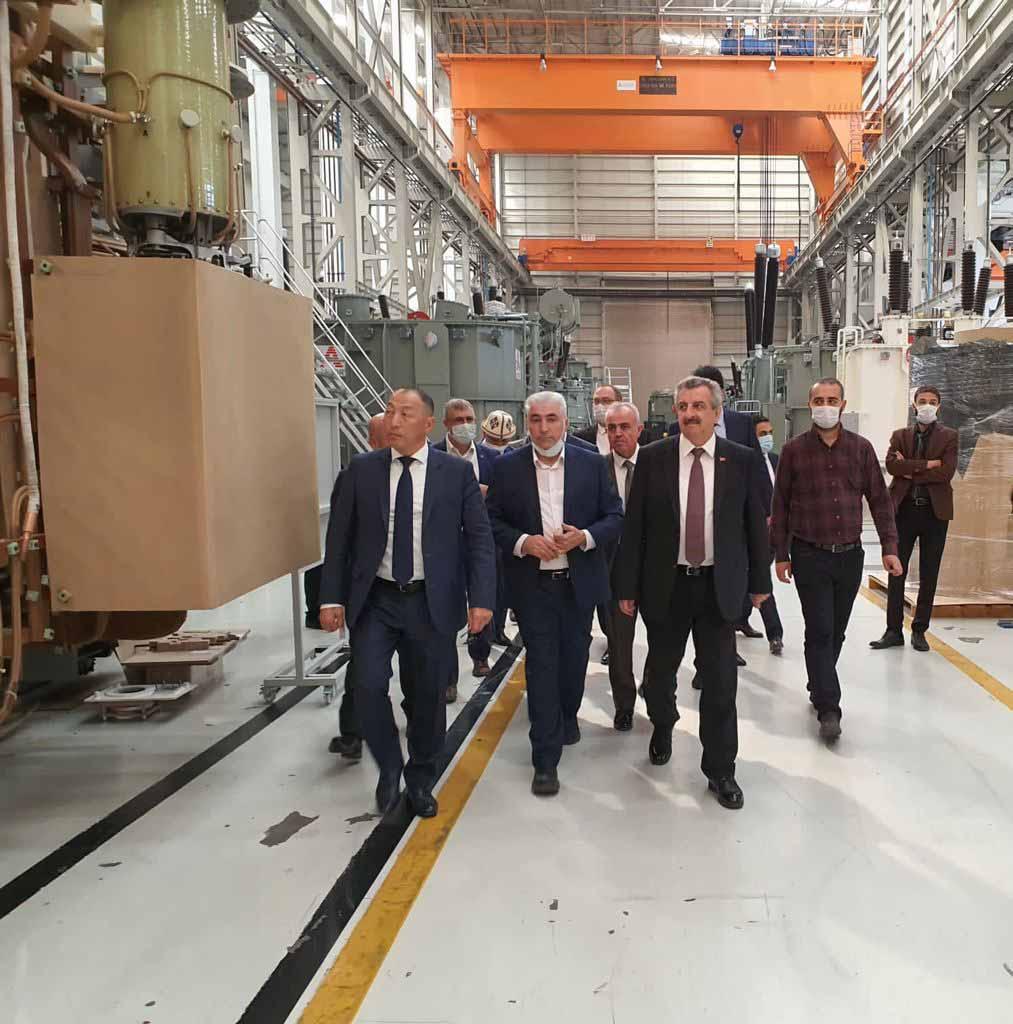 ASTOR Kırgız Cumhuriyeti Enerji ve Sanayi Bakanı Sayın Doskul Bekmurzaev'in Fabrikamıza Ziyareti