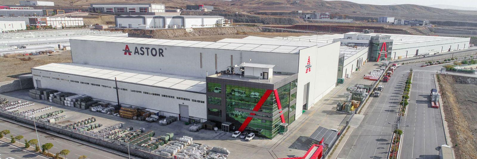 ASTOR Türkiye'nin 215. Büyük Sanayi Kuruluşu ASTOR