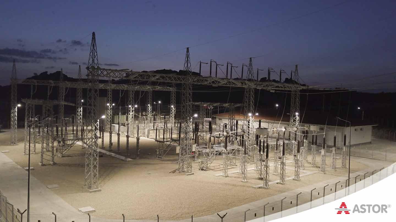 ASTOR Atakale 154 kV Res trafo merkezi enerjilendi.