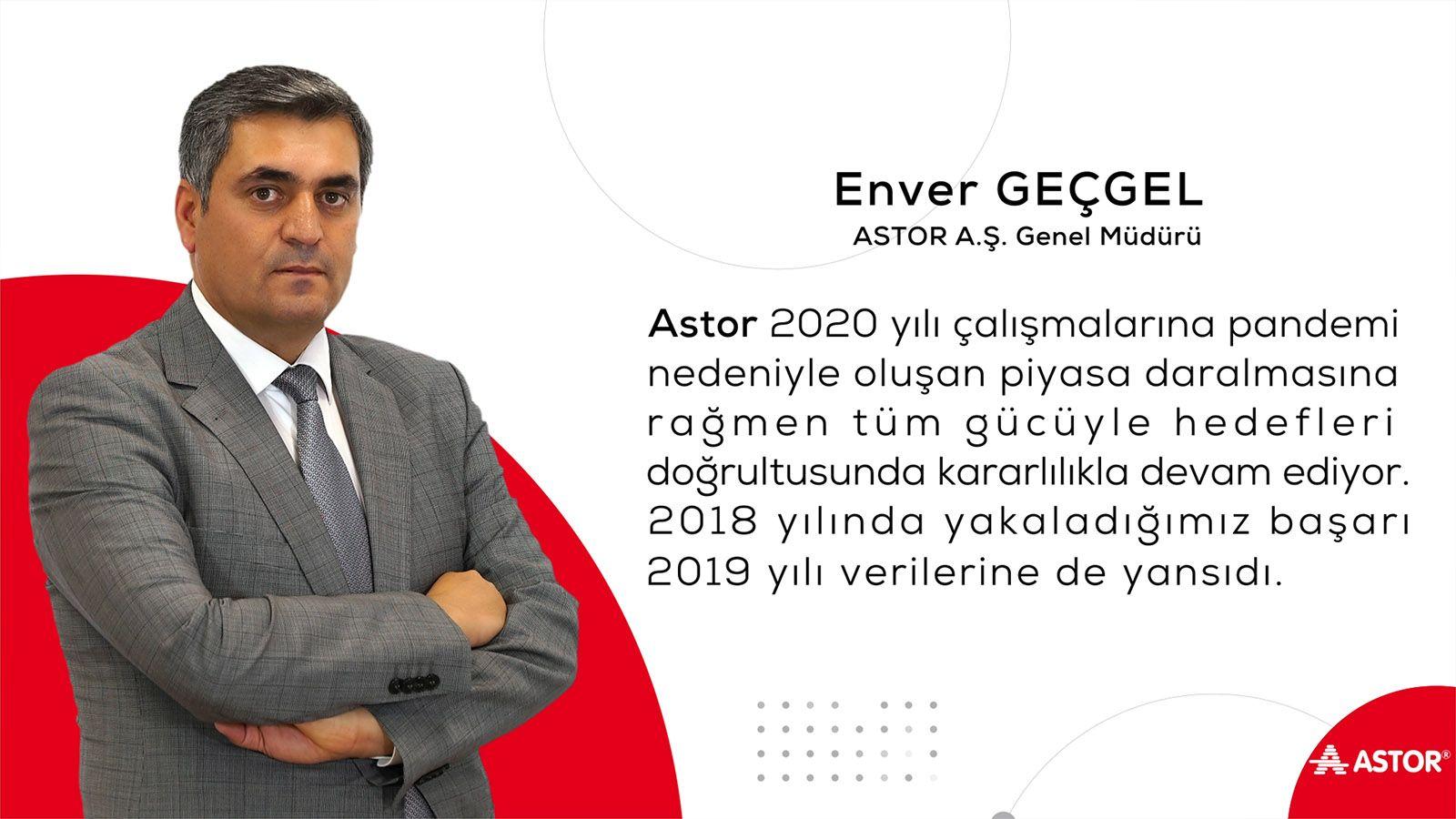 ASTOR Astor A.Ş. - 2019 Büyüme Stratejisi - Enver GEÇGEL