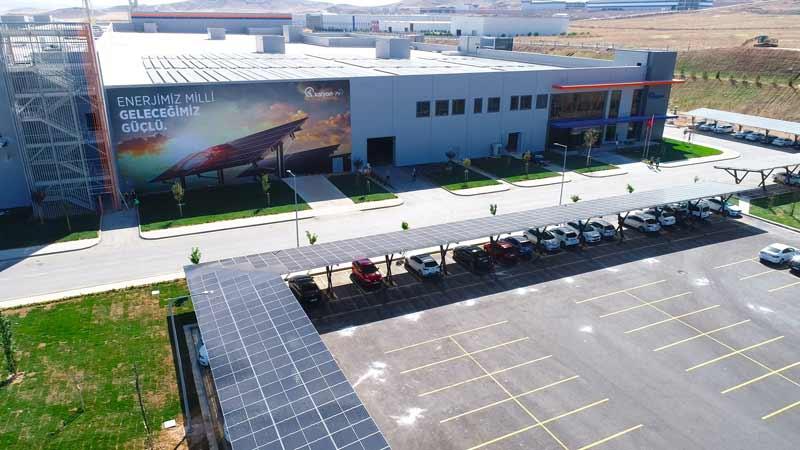 ASTOR Kalyon PV - Dünya'da İlk ve Tek Güneş Teknolojileri Fabrikası